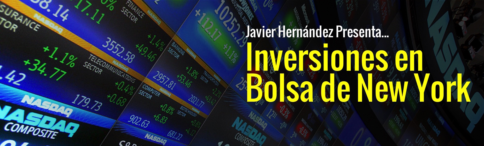 Inversiones en la Bolsa de Valores de New York